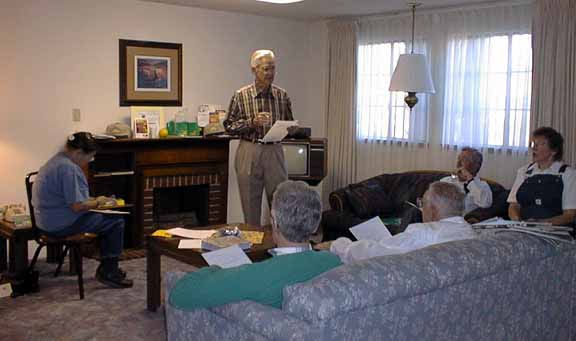 Gene Cameron conducting Pac Regional Meeting